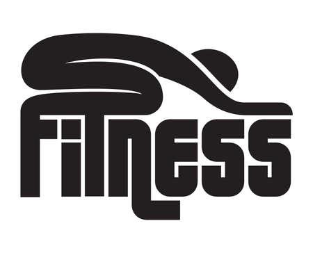 sports symbols metaphors: fitness sign