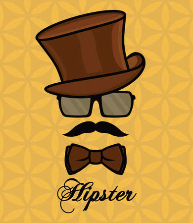 Hipster Stock Illustratie