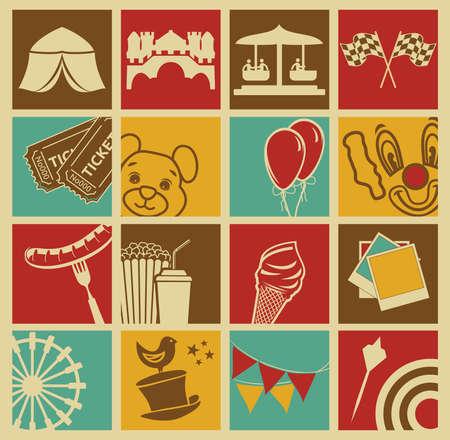 park icon: Entertainment icons