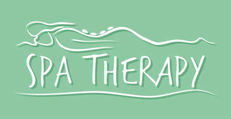 Spa therapy template Stock Vector - 22362877