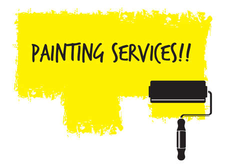 painting and decorating: Painting service Illustration