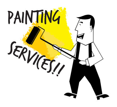 Painting service Stock Vector - 22362934