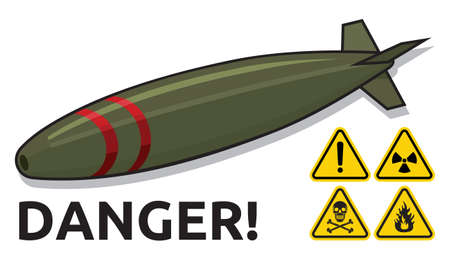 nuclear bomb: nuclear bomb Illustration