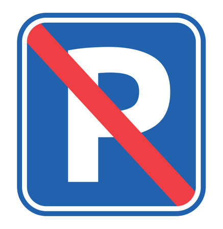 No Parking Sign Stock Vector - 22362957