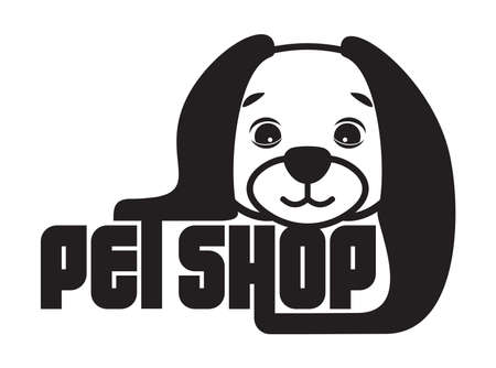 pet shop sign Vector
