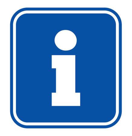 tourist information: tourist information sign Illustration