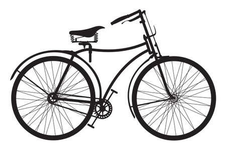 fietsketting: Retro fiets