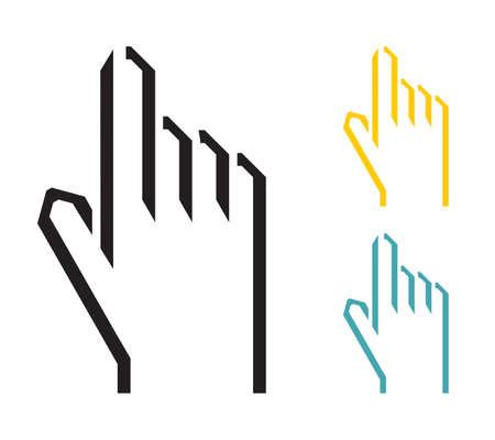 hand cursor Stock Vector - 22363046