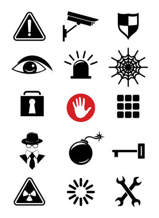 security icon: Security icons