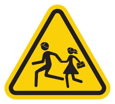 signal: warning school sign