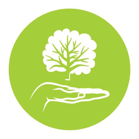 Piense Etiqueta verde