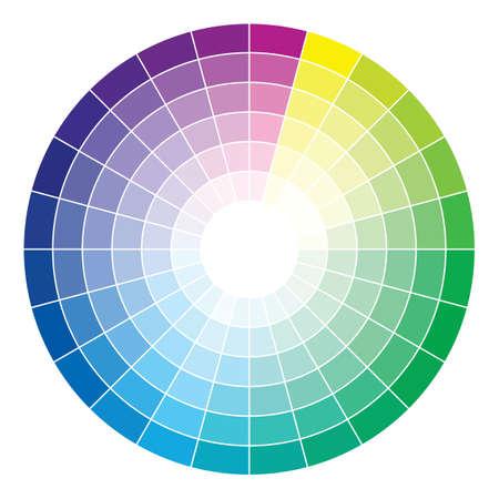 sampler: Color wheel