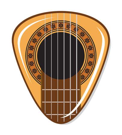 mediator: guitar pick