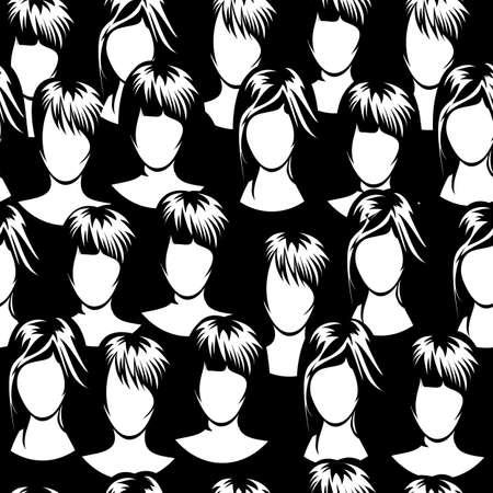 concert audience: Women crowd