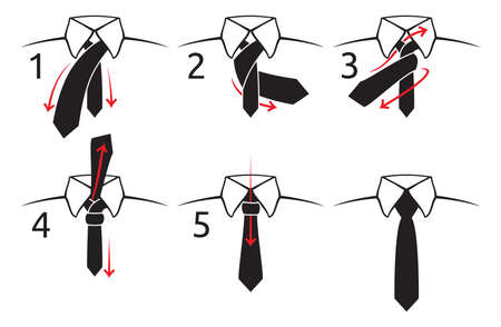 ascot: how to tie a tie