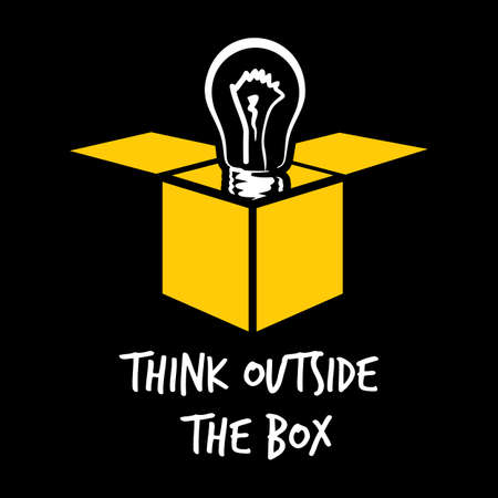 outside box: Think outside the box
