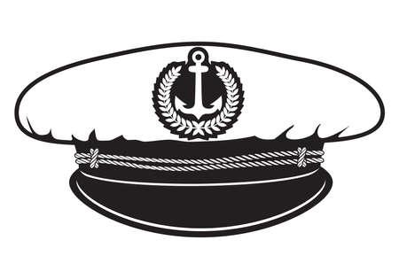 mariner: captain cap Illustration