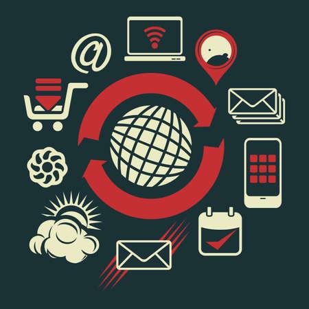 global communication: global communication, social media network