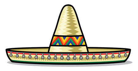mexican culture: Sombrero Illustration