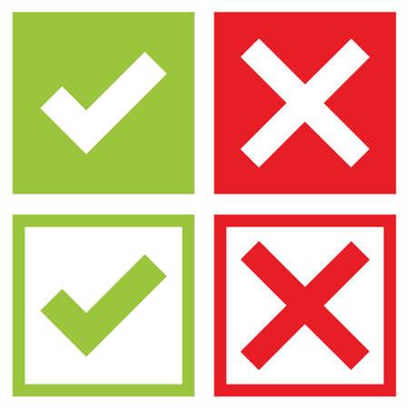 Check mark stickers