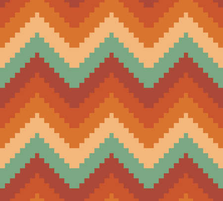 Seamless modern chevron zig zag pattern background Vector