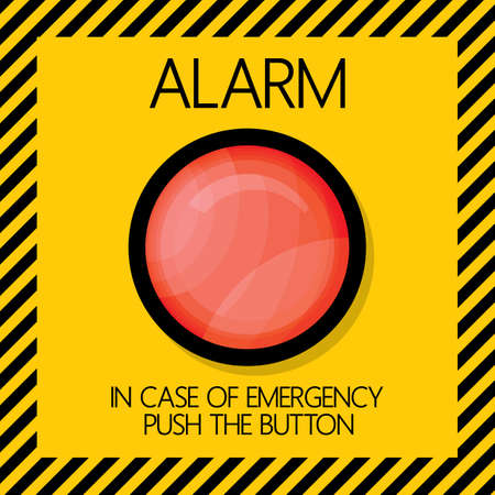 emergency light: alarm button