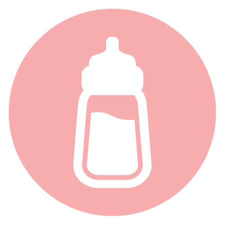 milk bottle: baby milk bottle icon