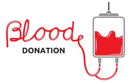 blood bag: blood donation