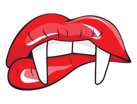 vampire: vampire mouth