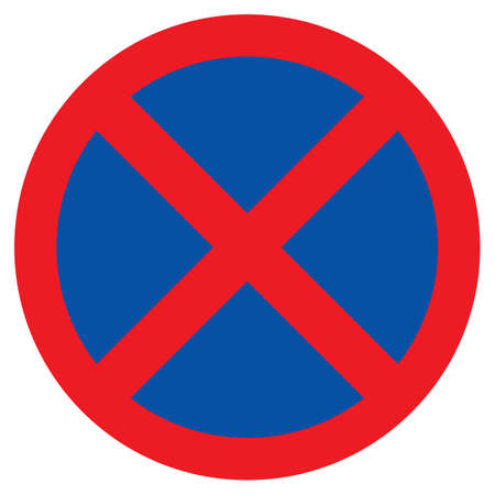 no parking: No parking - Clearway sign