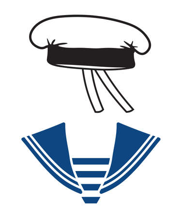 sailor hat: sailor