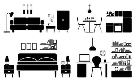 Furniture Stock Illustratie
