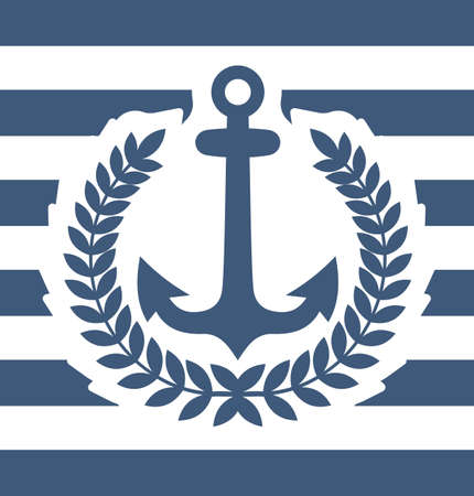 Navy background Vector