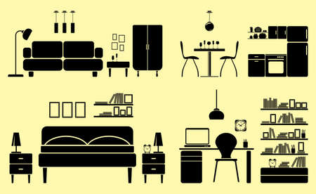 kitchen furniture: Furniture Illustration