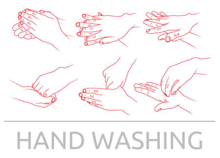infection prevention: Hands washing