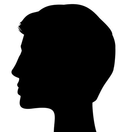 ilhouette: ilhouette of a man