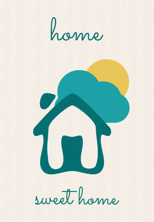 Home sweet home Stock Vector - 26333376