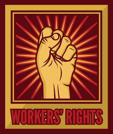 Humans rights poster Vector