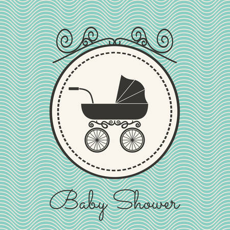 you are welcome: Baby shower Illustration
