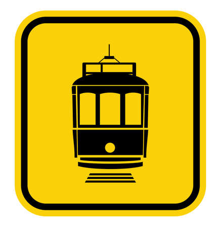 streetcar: tranv�a precauci�n Vectores
