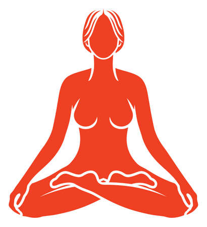 Yoga meditation Stock Vector - 28780352