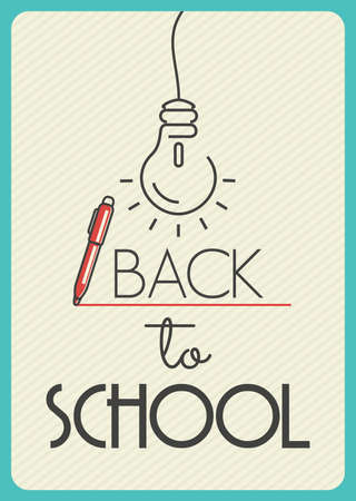 intermediate: Back to School poster
