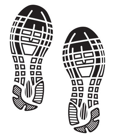 Impressum Sohlen Schuhe - Turnschuhe Standard-Bild - 31266279
