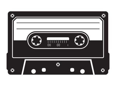Cassette tape Vettoriali