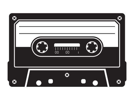 Cassette tape Stock Illustratie