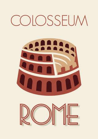 amphitheater: Rome colosseum poster