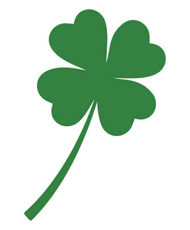 Four leafs clover  イラスト・ベクター素材