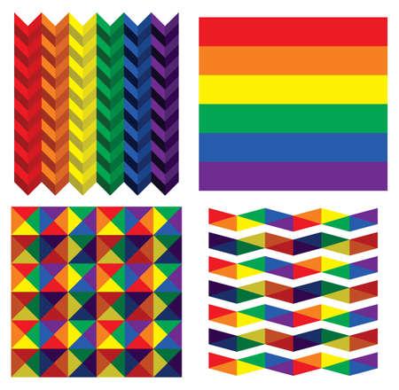 bandera gay: Colección de la bandera LGBT