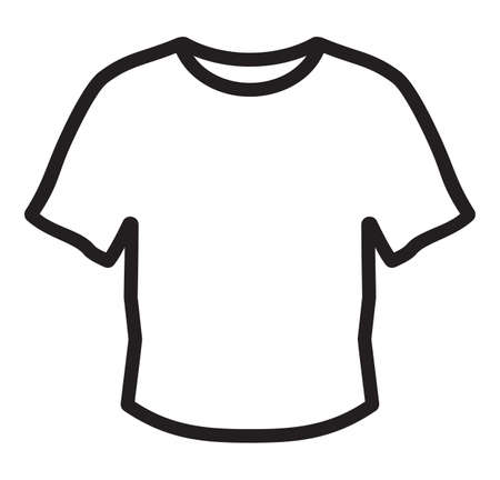 blank t shirt: Blank t shirt Icon symbol