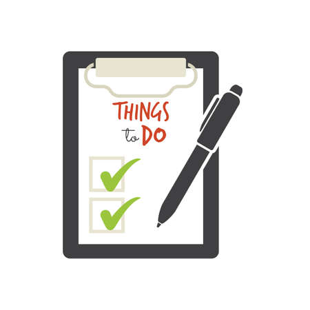 'young things': Things to do - check list